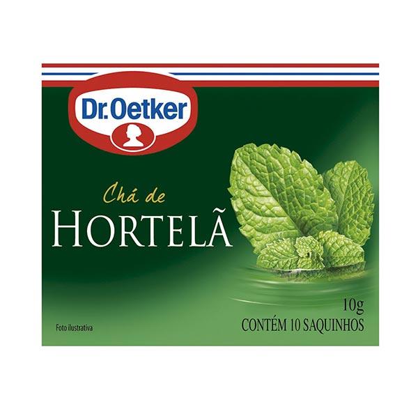 Chá Dr. OETKER Hortelã Caixa 10g com 10 Saquinhos