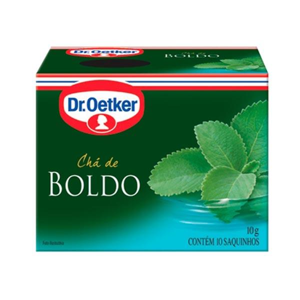 Chá Dr. OETKER Boldo Caixa 10g com 10 Saquinhos
