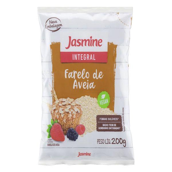 Farelo de Aveia JASMINE 200g Farelo de Aveia JASMINE  Pacote 200g