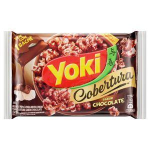 Pipoca-para-Micro-Ondas-Cobertura-Chocolate-Yoki-Pacote-160g