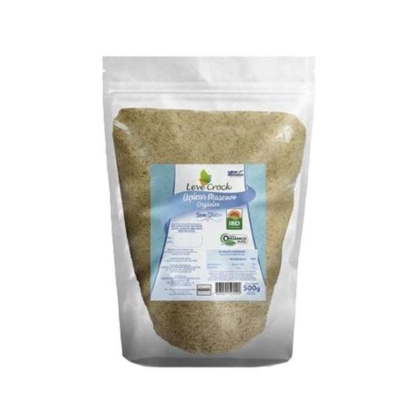 Açúcar Mascavo Orgânico LEVE CROCK Pacote 500g