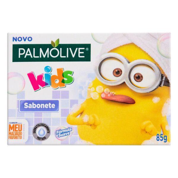 Sabonete Infantil em Barra Mix de Banana Tropical Meu Malvado Favorito PALMOLIVE Kids Caixa 85g