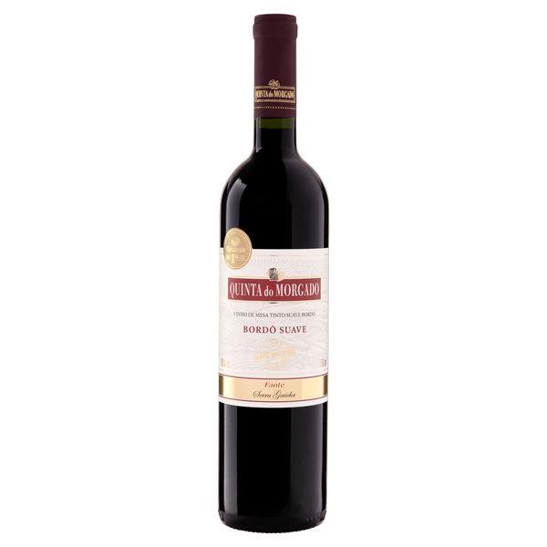 Vinho QUINTA DO MORGADO Tinto Bordô Suave 750ml