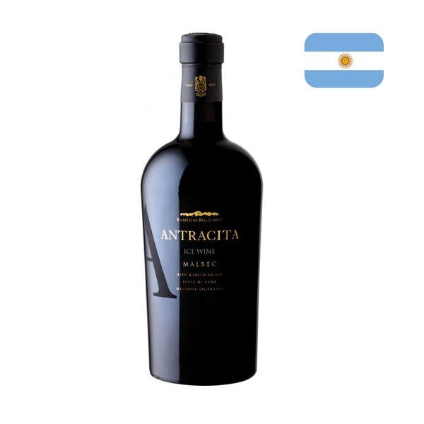 Vinho Argentino ANTRACITA Wine Malbec Garrafa 375ml