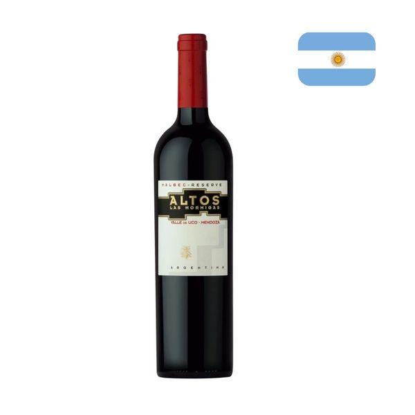 Vinho Tinto Argentino ALTOS LAS HORMIGAS Malbec Reserve Garrafa 750ml