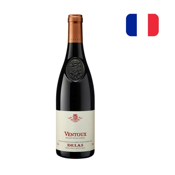 Vinho Tinto Francês Du VENTOUX DELAS Cotes Garrafa 750ml