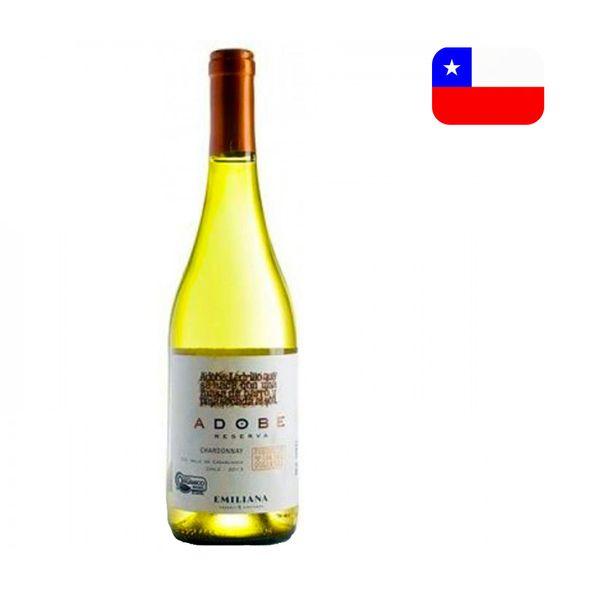 Vinho Branco Chileno EMILIANA ADOBE Chardonnay Garrafa 750ML