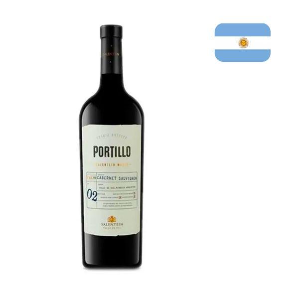 Vinho Tinto Argentino PORTILLO Cabernet Sauvignon Garrafa 750ml