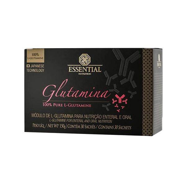 Glutamina ESSENTIAL Sachê 30 Unidades Caixa 150g