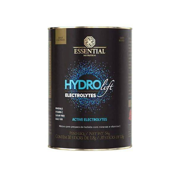 Hydrolift Neutro ESSENTIAL Nutrition 30 Sachês de 1,8g Pote 54g