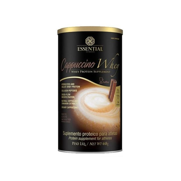 Whey Protein ESSENTIAL Nutrition Cappuccino Lata 448g