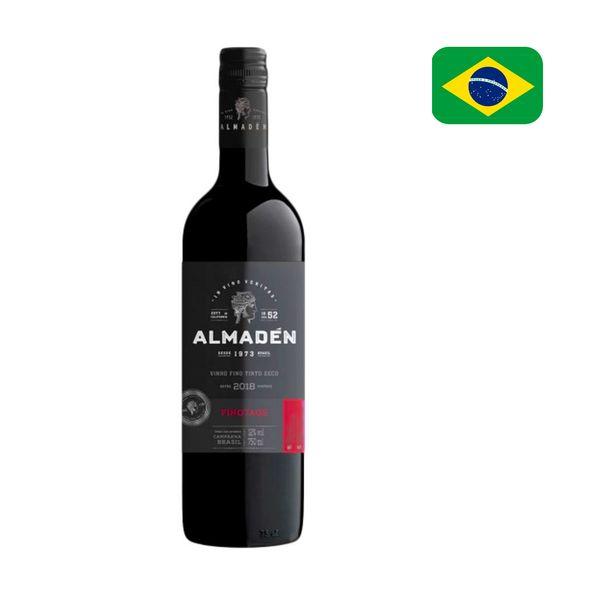 Vinho Tinto Brasileiro ALMADEN Pinotage Garrafa 750ml