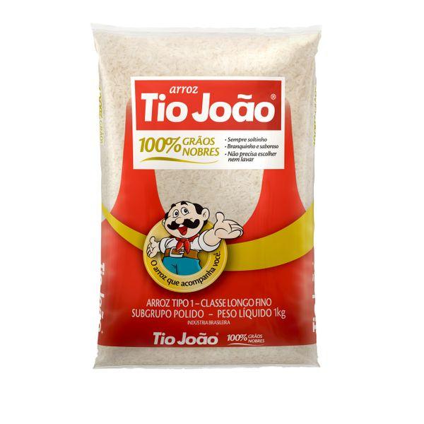 Arroz Branco TIO JOÃO Pacote 1kg