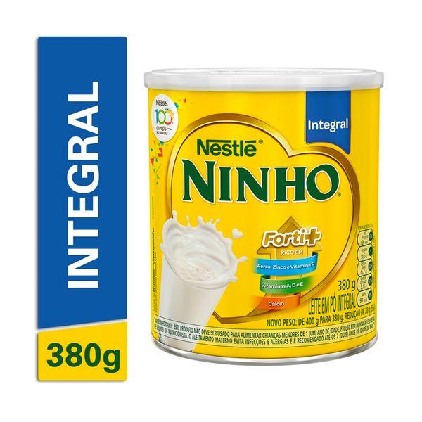 Leite em Pó NINHO Integral Lata 380g