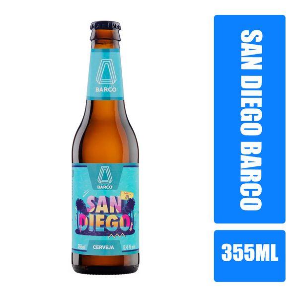 Cerveja Barco SAN DIEGO Apa Garrafa 355ml