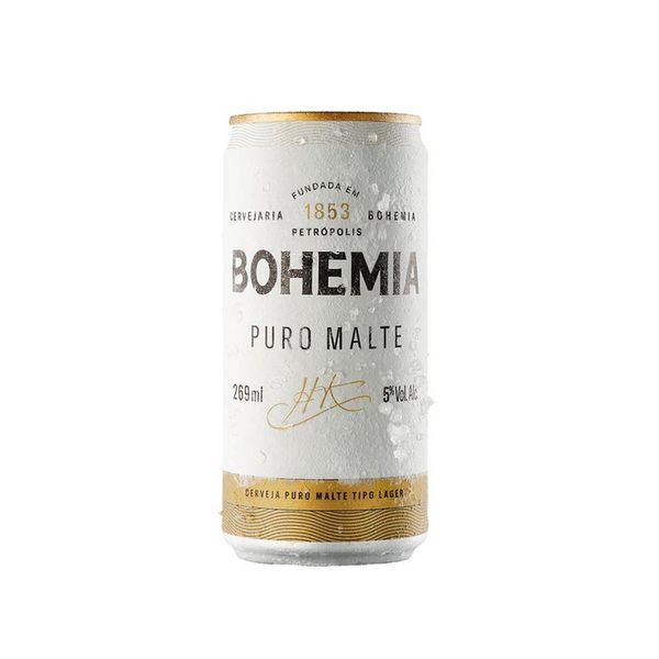Cerveja BOHEMIA Puro Malte Lata 269ml