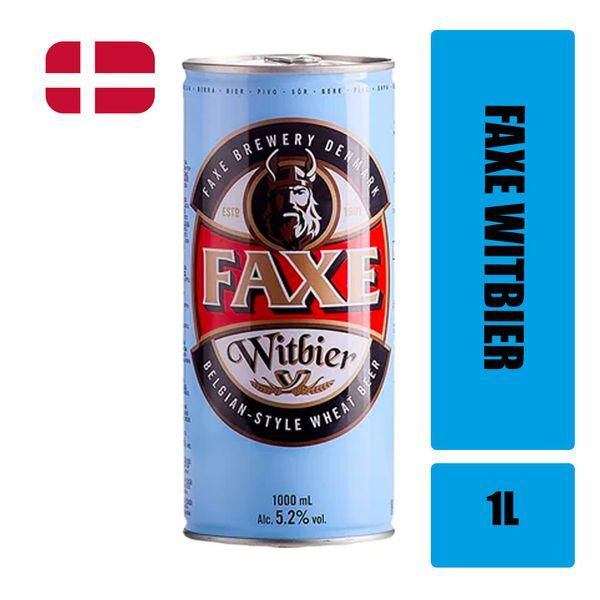 Cerveja de Trigo FAXE Witbier Lata 1l