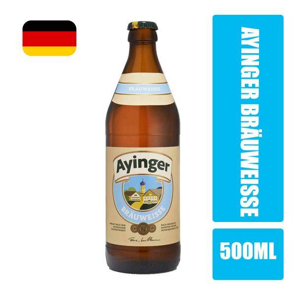Cerveja AYINGER BräuWeisse Garrafa 500ml
