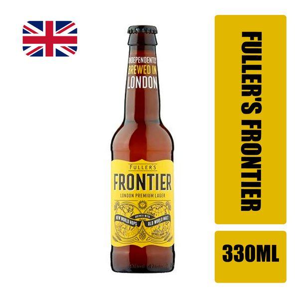 Cerveja Amber Lager FULLER'S Frontier Garrafa 330ml